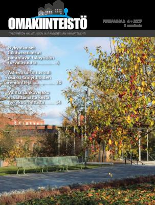 Omakiinteistö-lehti, kansi